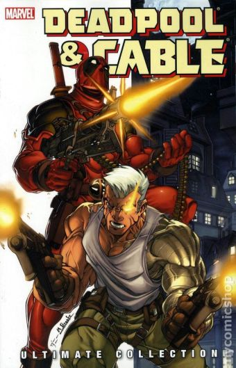 deadpool & cable cover