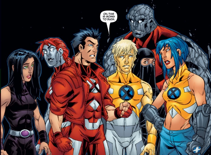 new x-men #23 roster