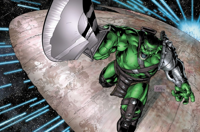 Planet hulk #105