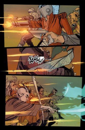 Saga #1 action