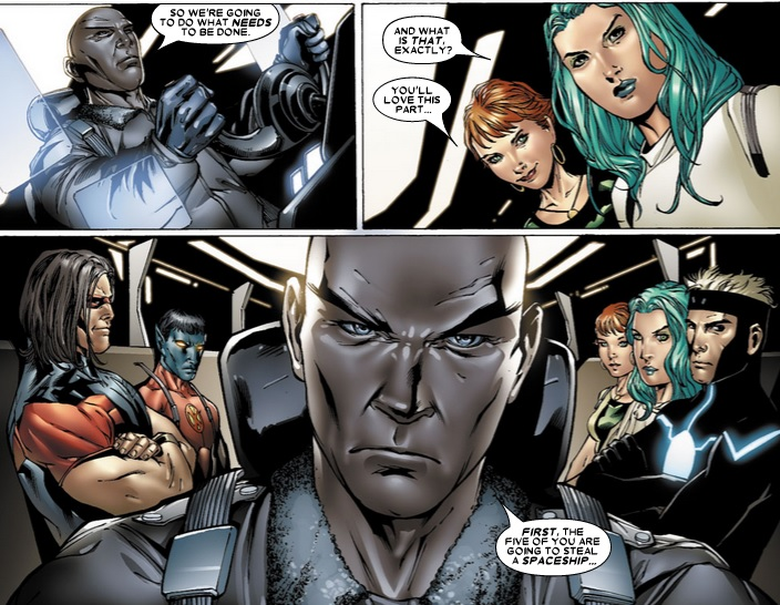 uncanny x-men #475 team