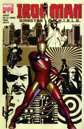 iron man director of shield #15 cover