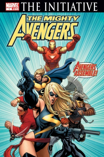 mighty avengers 2007 cover