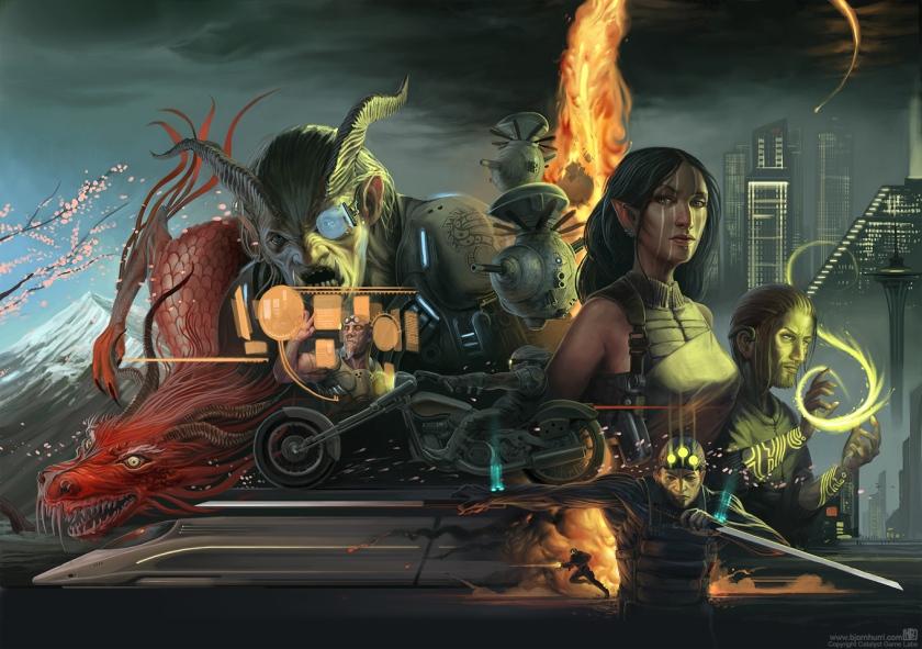 Shadowrun anniversary cover