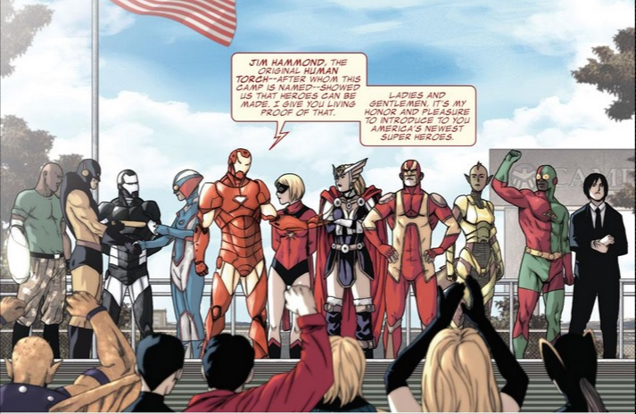 avengers initiative #12