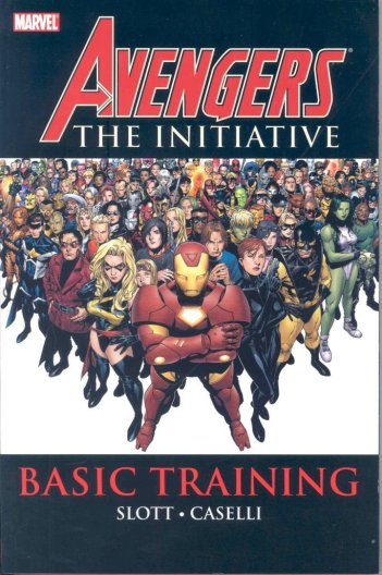 avengers the initiative cover