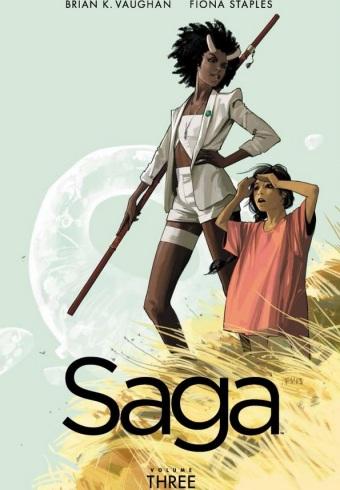 saga volume 3 cover