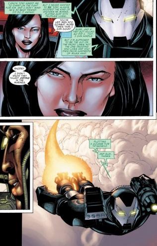 iron man war machine secret invasion #34