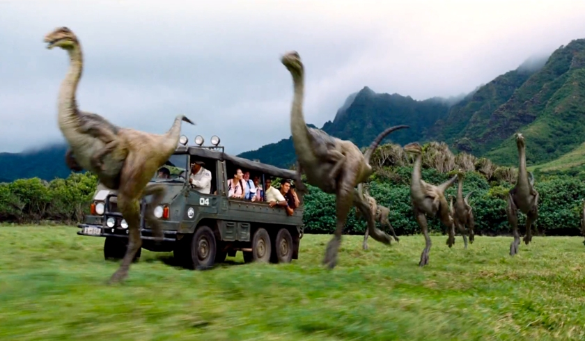 jurassic world herd