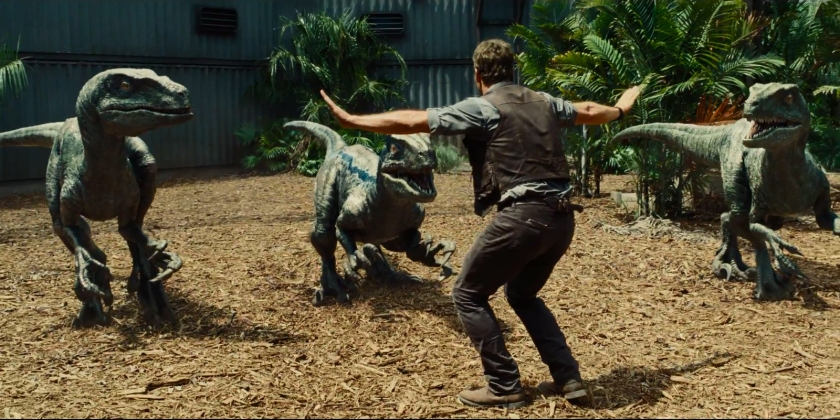 jurassic world raptros
