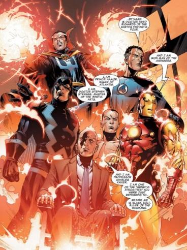 new avengers illuminati #1