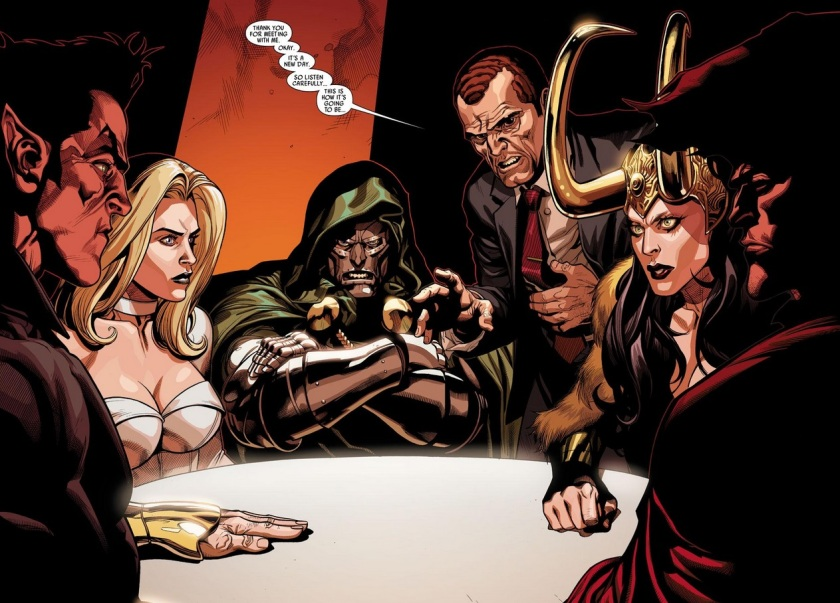 Secret Invasion #8 cabal