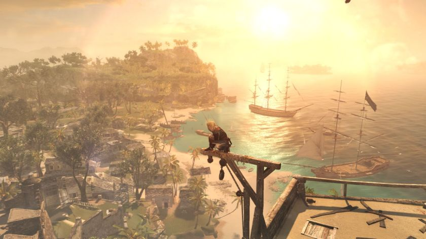 AC 4 Black Flag Havana sunset