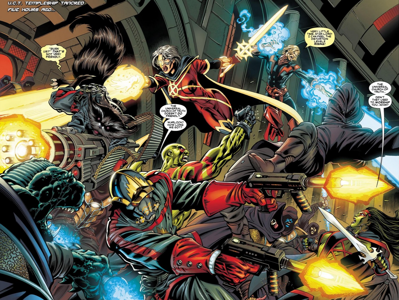 Guardians Of The Galaxy Comic