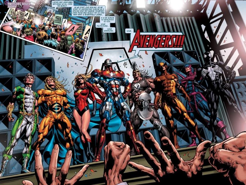 Dark Avengers #1