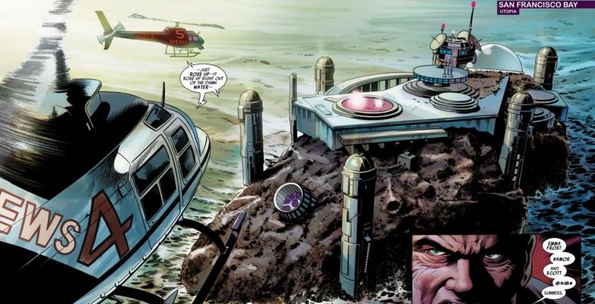 Dark Avengers #8 utopia