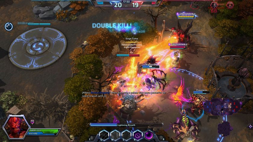 heroes of the storm haunted mines