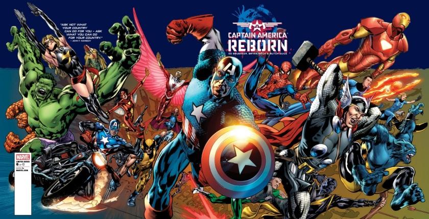 captain america reborn #6 cover