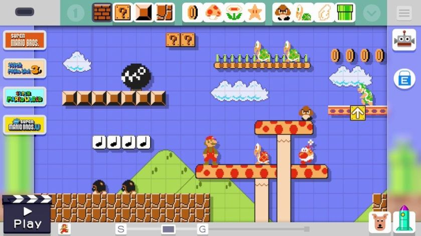 Super Mario Maker NES