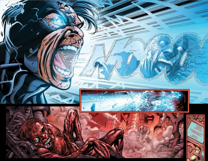 war of kings #6 black bolt vs vulcan