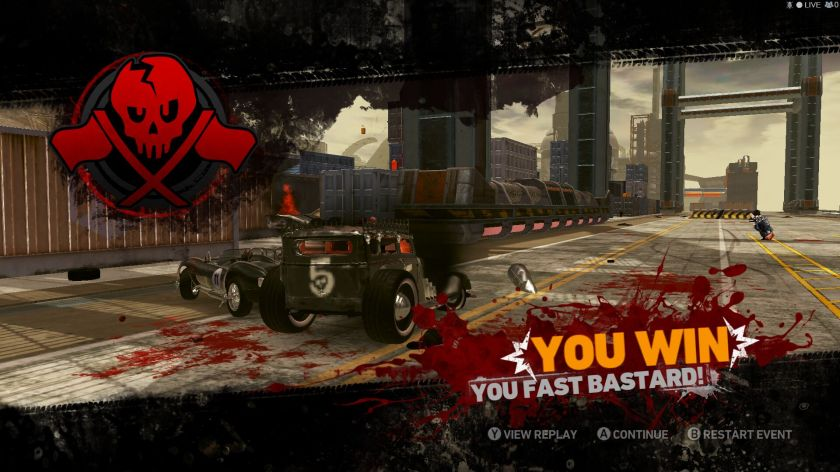 carmageddon you win