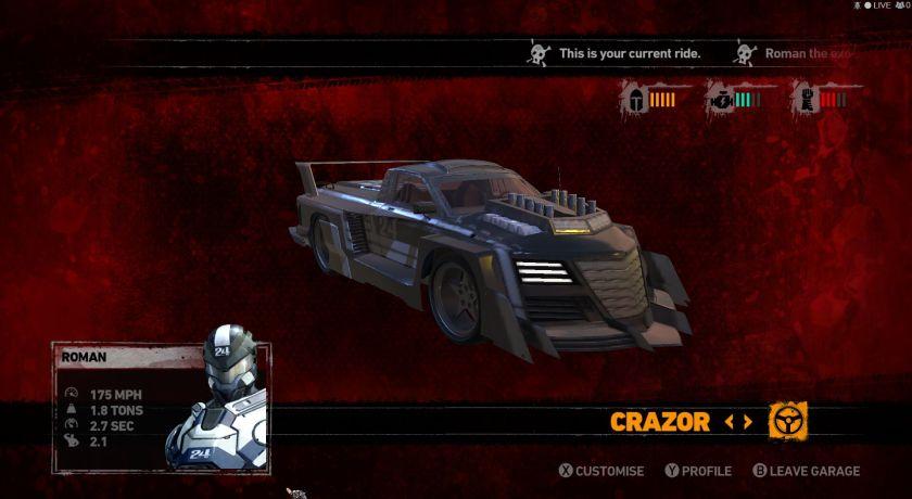 Carmageddon Crazor