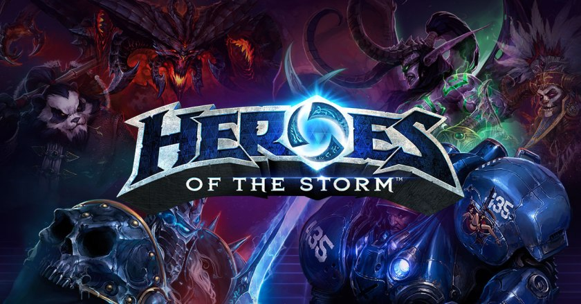 Heroes of the Storm banner