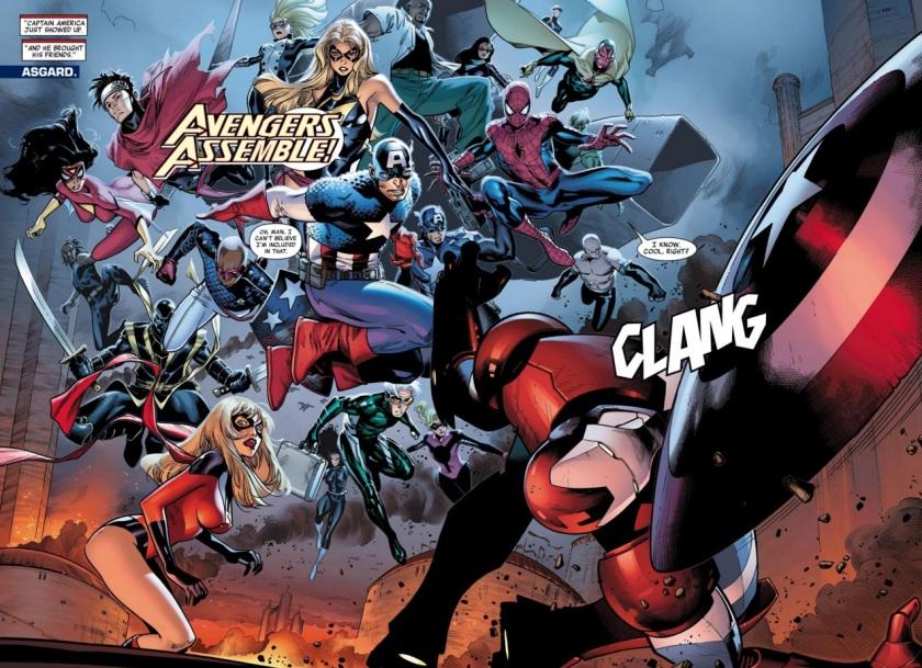 Siege #3 avengers
