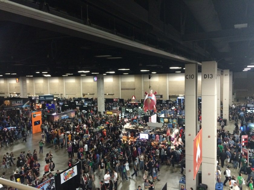 pax south show floor