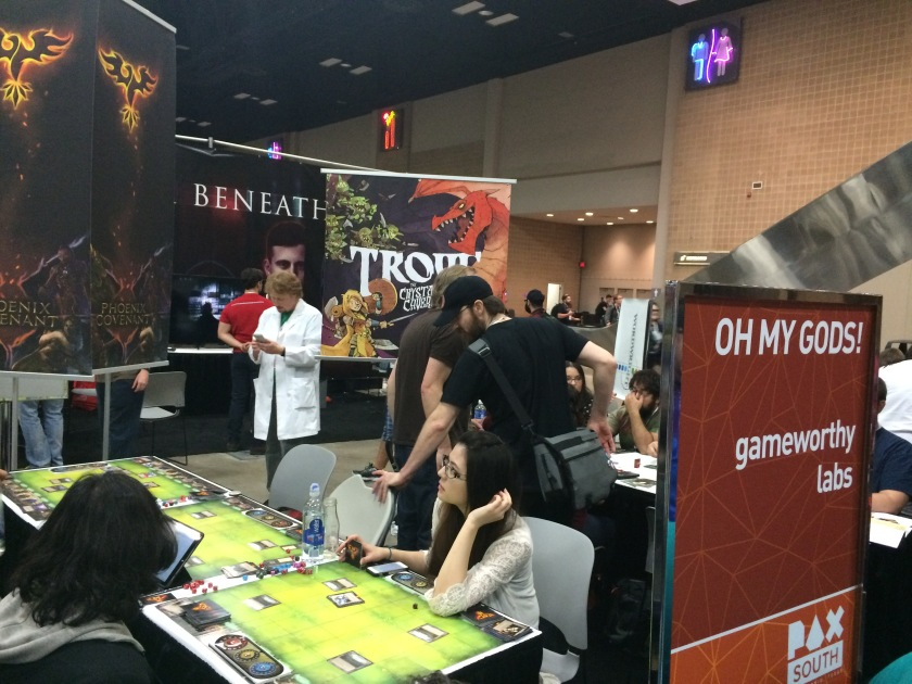 pax south indie tabletop showcase