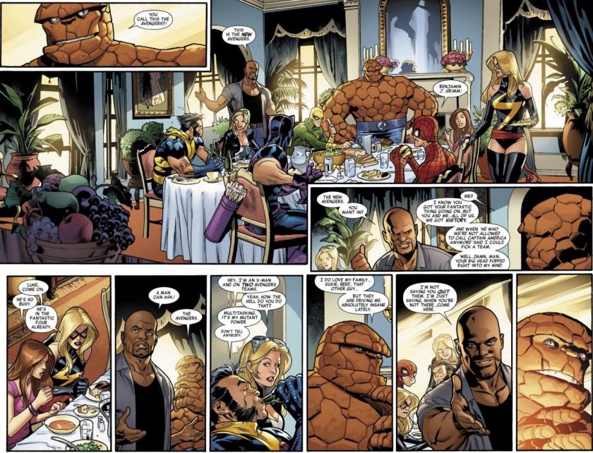 New Avengers 2010 #1