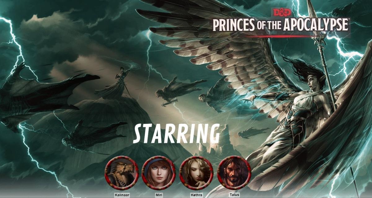 """D&D 5E """"Princes of the Apocalypse"""" Epilogue &Recap"""