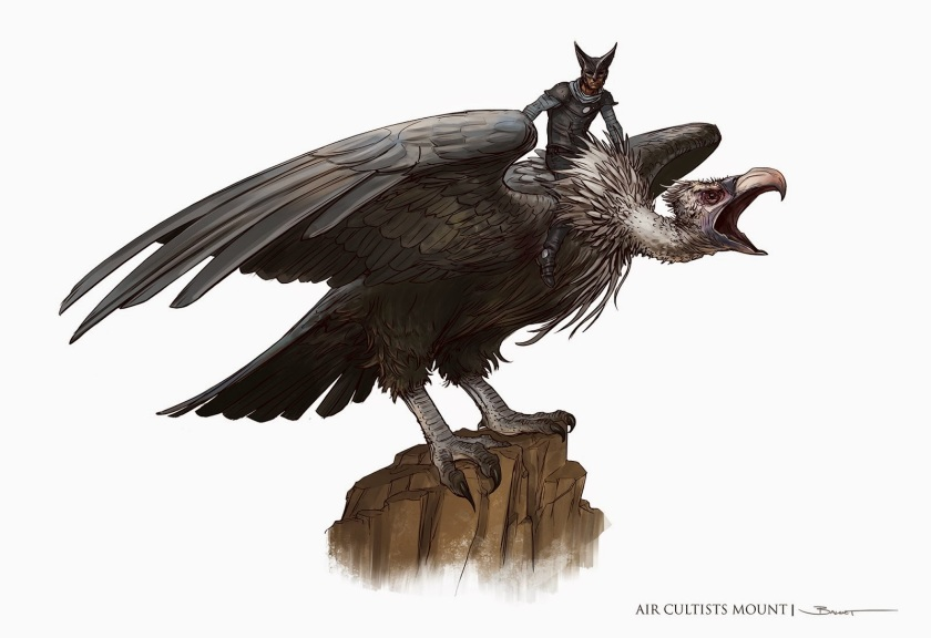 d&D Feathergale Knight Vulture