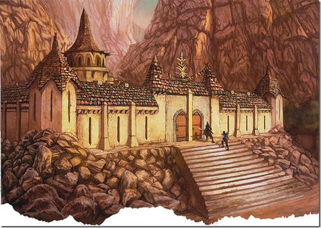 Sacred Stone Monastery