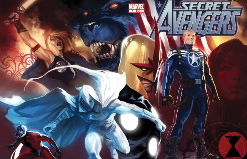 Secret Avengers 2010 #3 cover