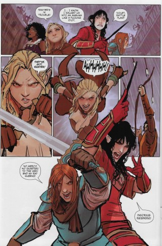Rat Queens #9 action