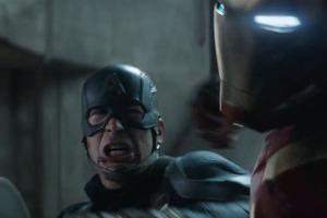 civil war iron man v cap