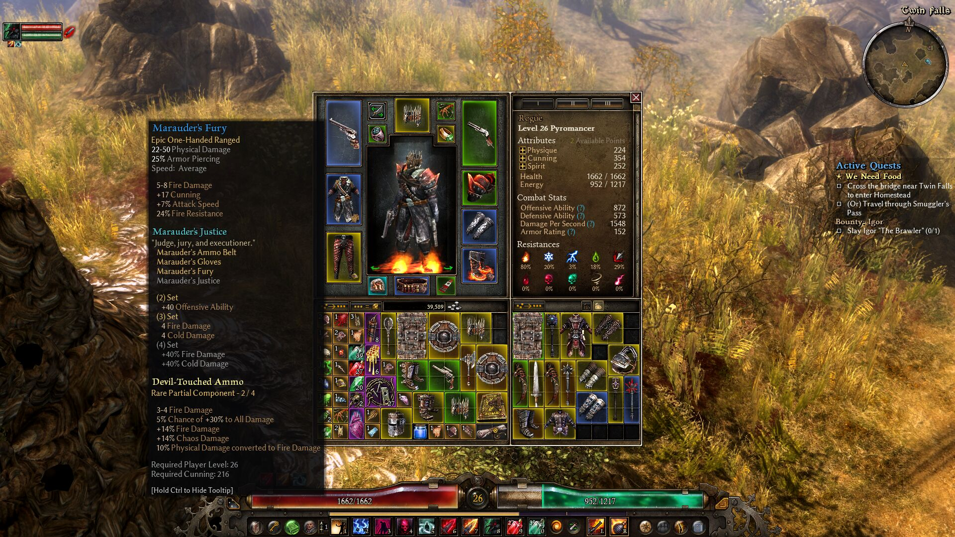 Grim Dawn End Game Builds