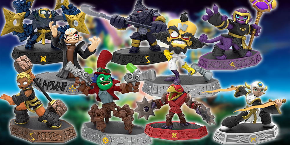 The Best Skylanders: Imaginators Figures from the Launch Wave [Pixelkin]