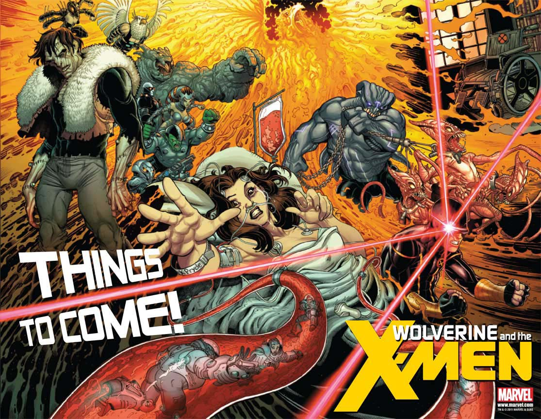 Marvel Comics Final Thoughts – Wolverine and The X-Men (2011), Vol. 1-2