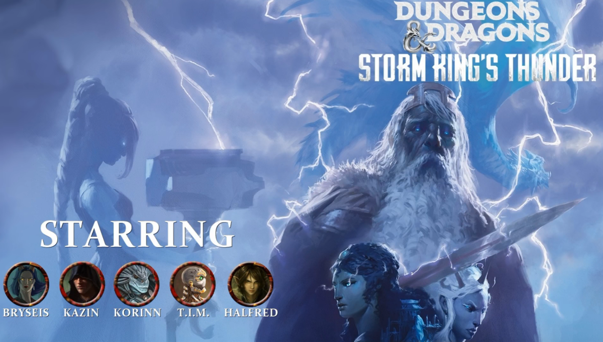 "D&D 5E ""Storm King's Thunder"" Session 65 Recap"