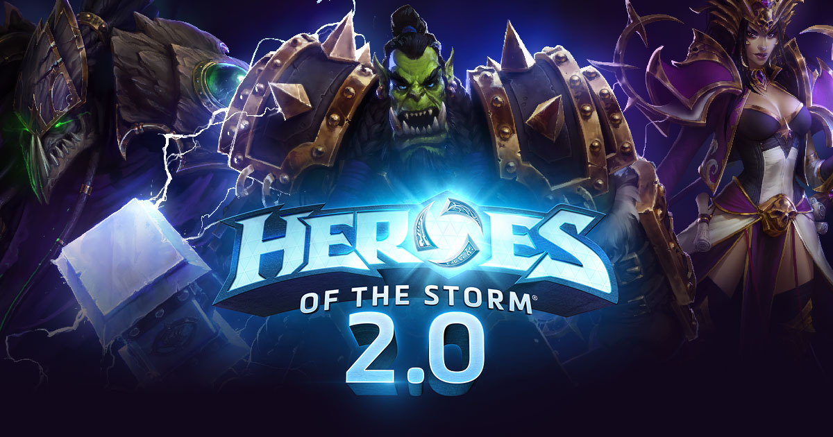 Heroes of the Storm 2.0 Makes a Great Game Better[Zam]