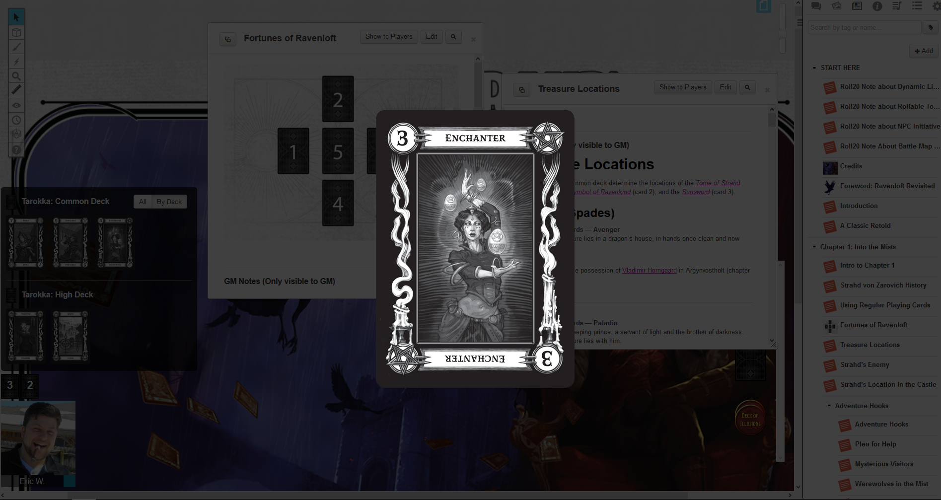 Roll20 Review: Curse of Strahd – Eric Watson