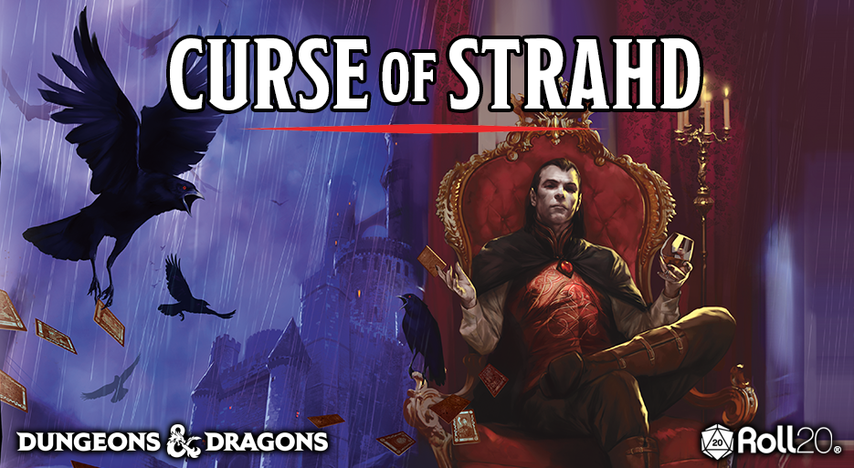 Roll20 Review: Curse of Strahd