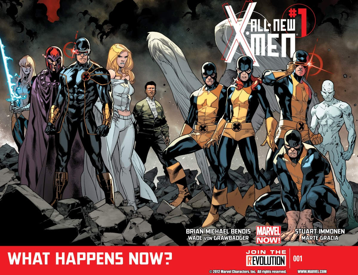 Marvel Comics Final Thoughts – All-New X-Men (2012), Vol. 1-3
