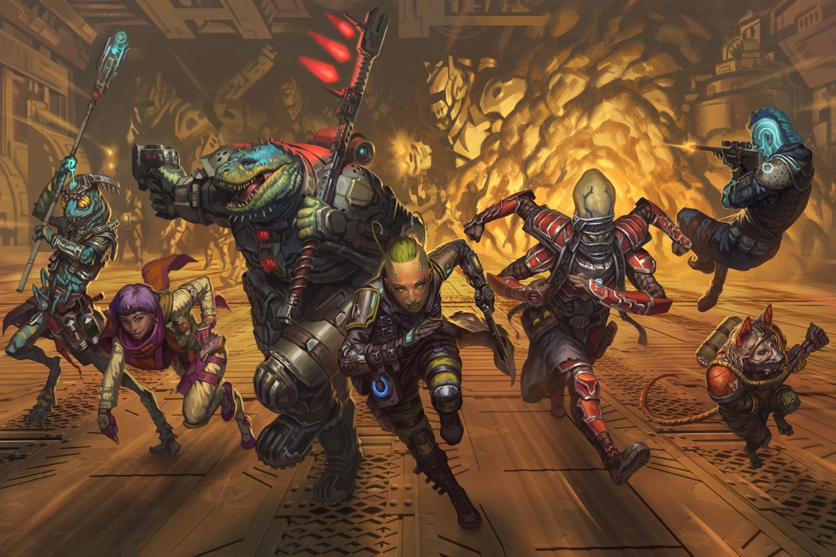 Tabletop Review Starfinder Roleplaying Game Eric Watson