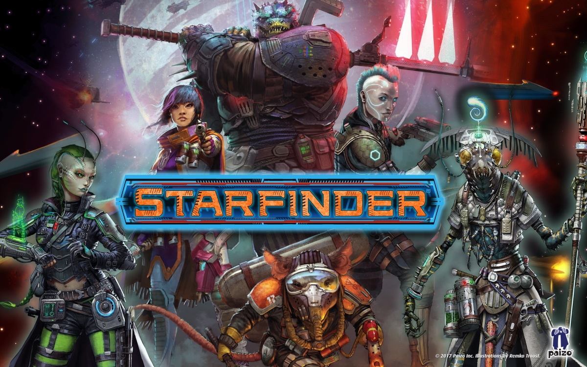 Tabletop Review: Starfinder Roleplaying Game