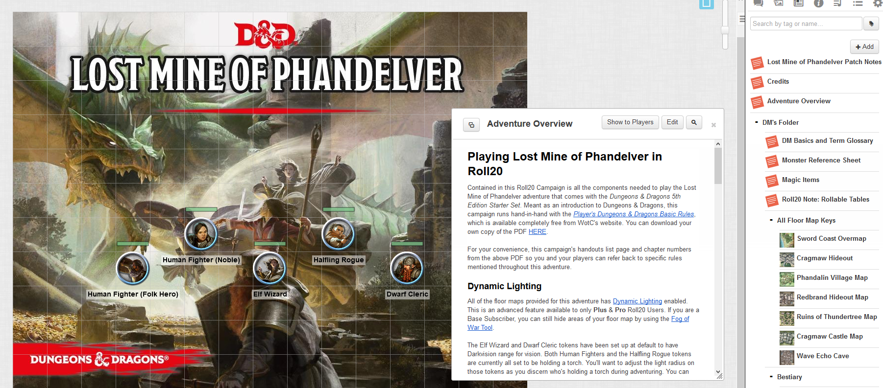 Roll20 Review Lost Mine Of Phandelver Eric Watson