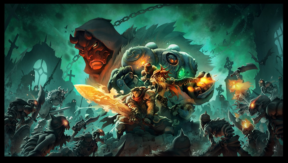 Battle Chasers: Nightwar Review [PC Gamer]