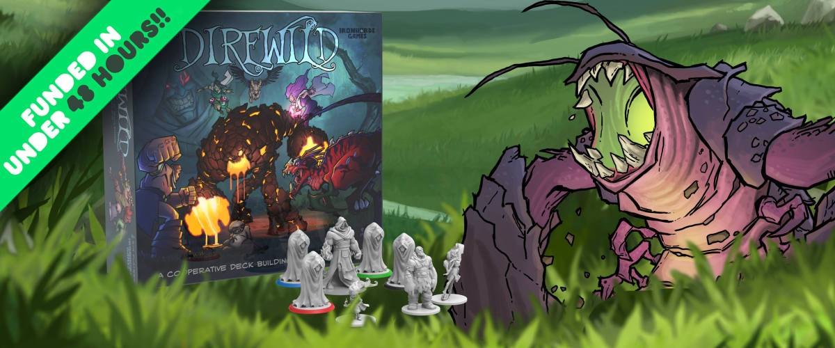 Direwild: Co-op Deckbuilding Dungeon Crawler on Kickstarter